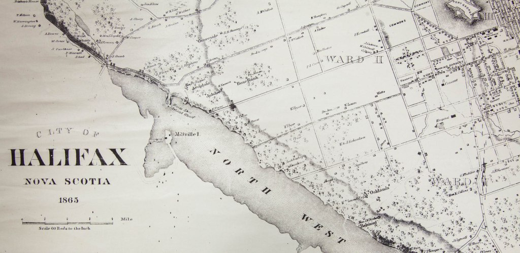 Map of Halifax 1865 (1 of 1)