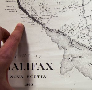 Map of Halifax 1865 pointing (1 of 1)