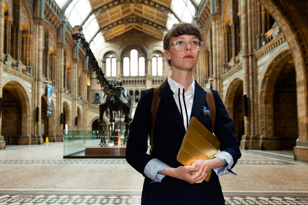 The Memorialist at Natural History Museum London.
